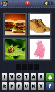 4 pics 1 word answer